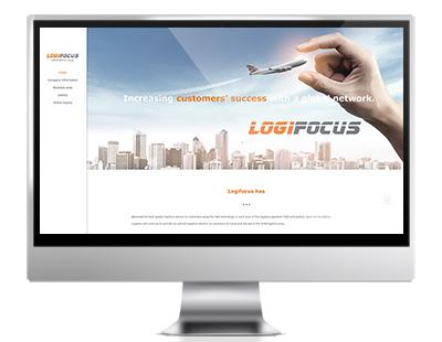 logi 중소기업 바우처사업 홈페이지 제작 Korea homepage design company