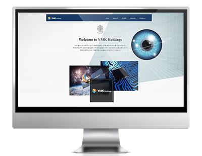 ymk 중소기업 바우처사업 홈페이지 제작 Korea homepage design company